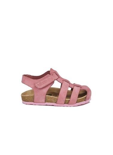 Vicco Vicco 905.20Y.080 Arena Hakiki Deri Kız/Erkek Çocuk Spor Sandalet Ayakkabı Pembe
